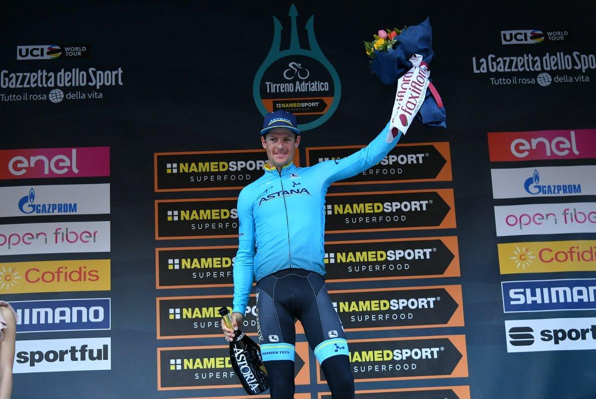 Tirreno-Adriatico - Jakob Fuglsang : «Je la dédie à Scarponi»