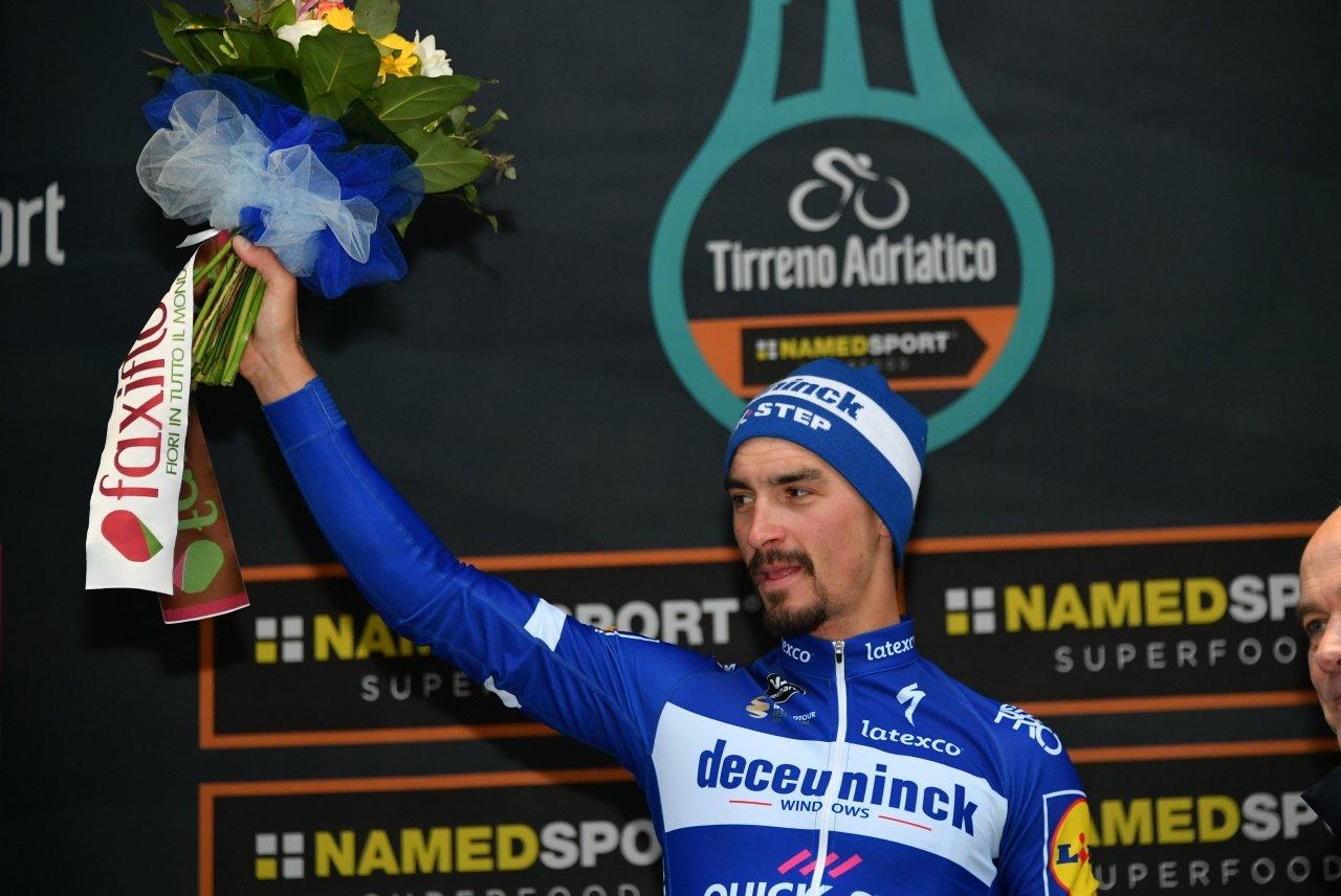 Tirreno-Adriatico - Julian Alaphilippe sait aussi... sprinter