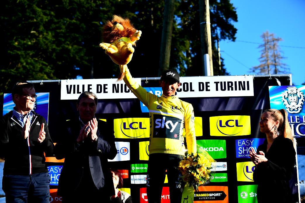 Tour de Catalogne - Chris Froome et Egan Bernal associés