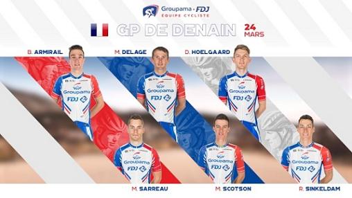 GP de Denain - Marc Sarreau : 'J'ai toujours aimé les pavés'