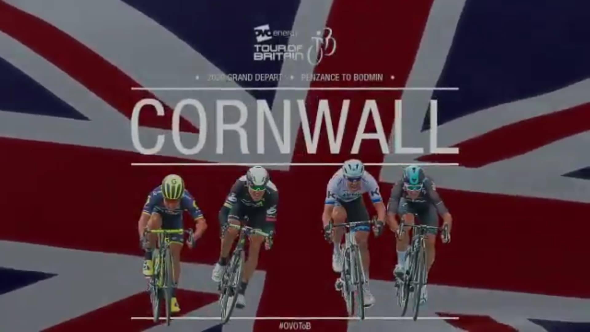 Tour de Grande-Bretagne - Le départ des Cornouailles en 2020