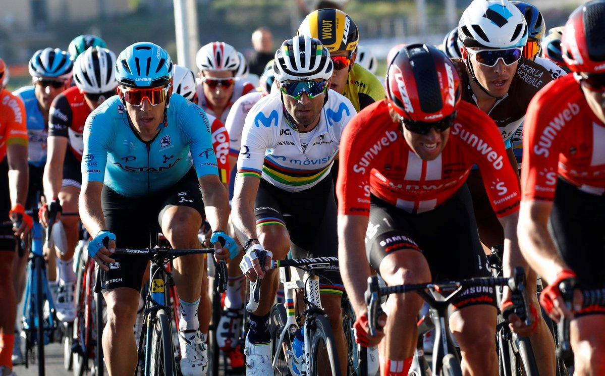 Milan-San Remo - Valverde : 'Content d'être avec les meilleurs'