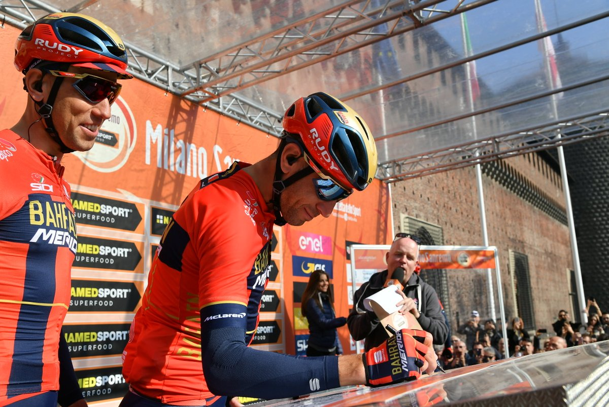 Milan-San Remo - Vincenzo Nibali : 'Content de ma course'