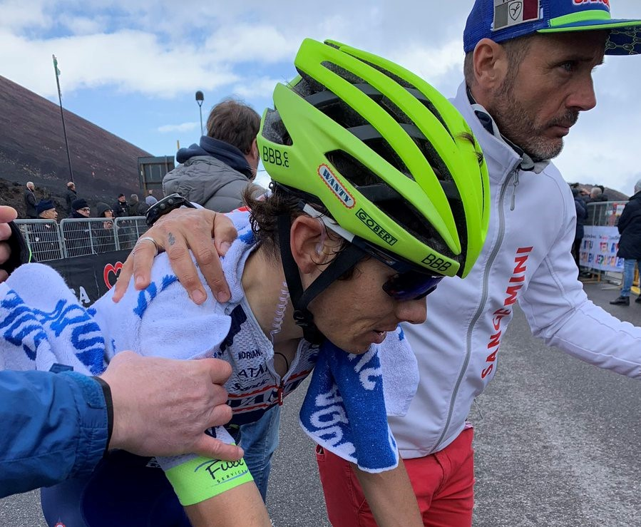 Tour de Sicile - Guillaume Martin gagne la 4e étape à l'Etna