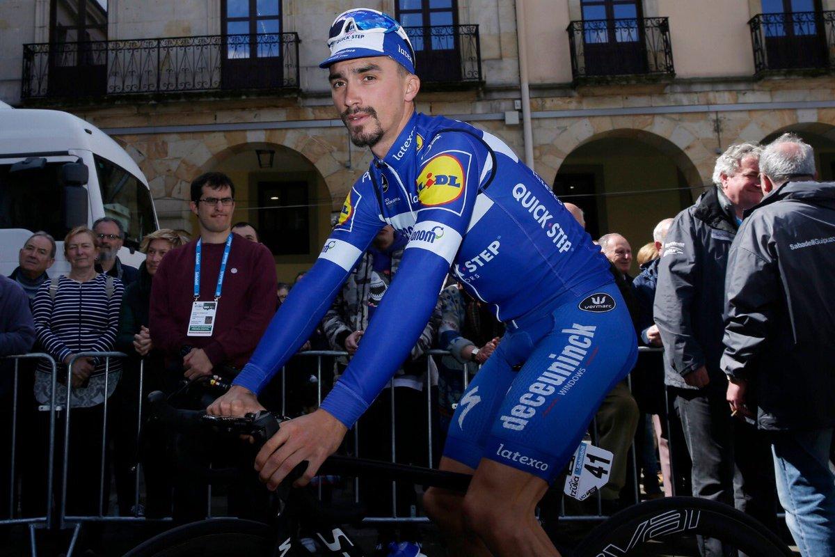 Tour du Pays basque - Julian Alaphilippe a quitté la course