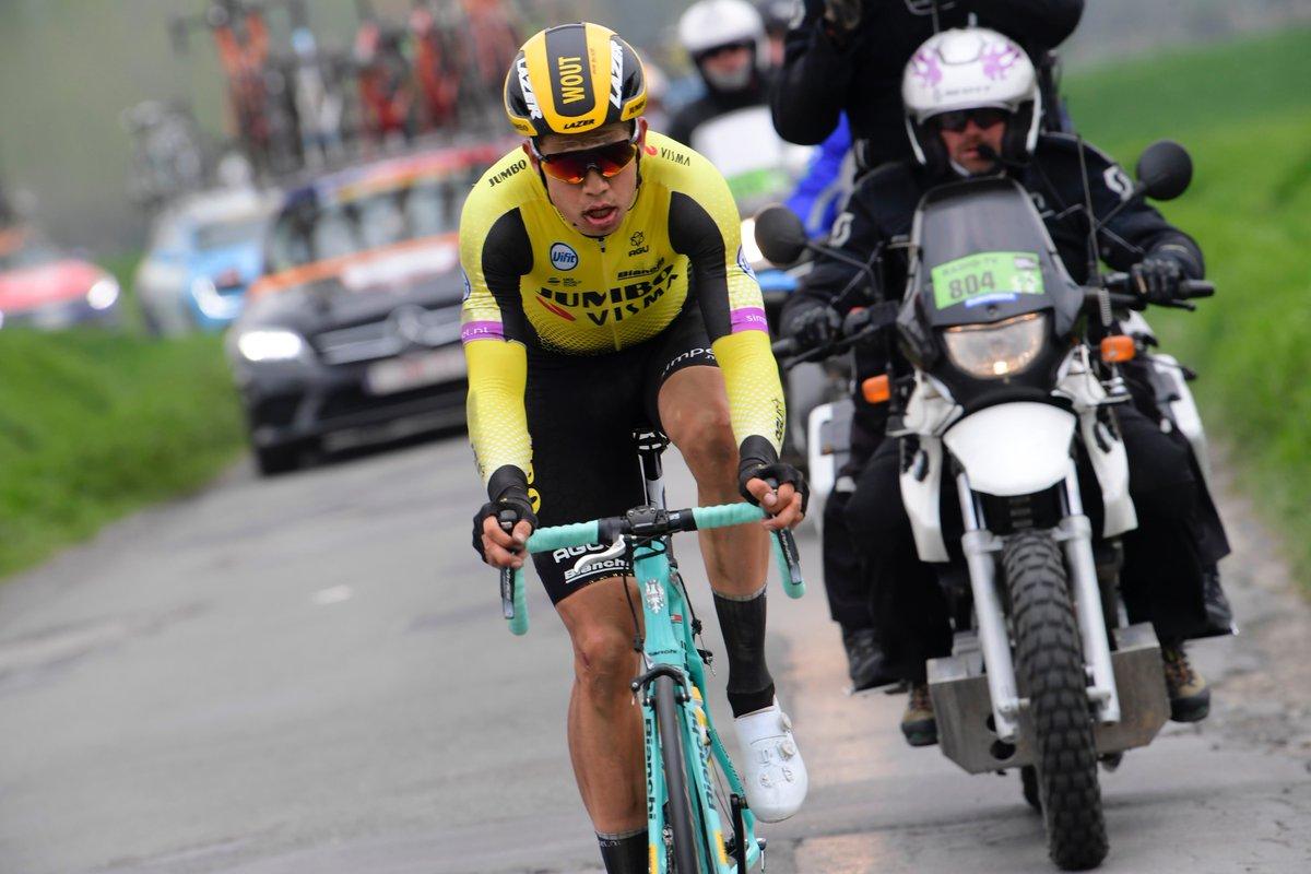 Paris-Roubaix - Wout Van Aert : 'Je suis complètement vidé'