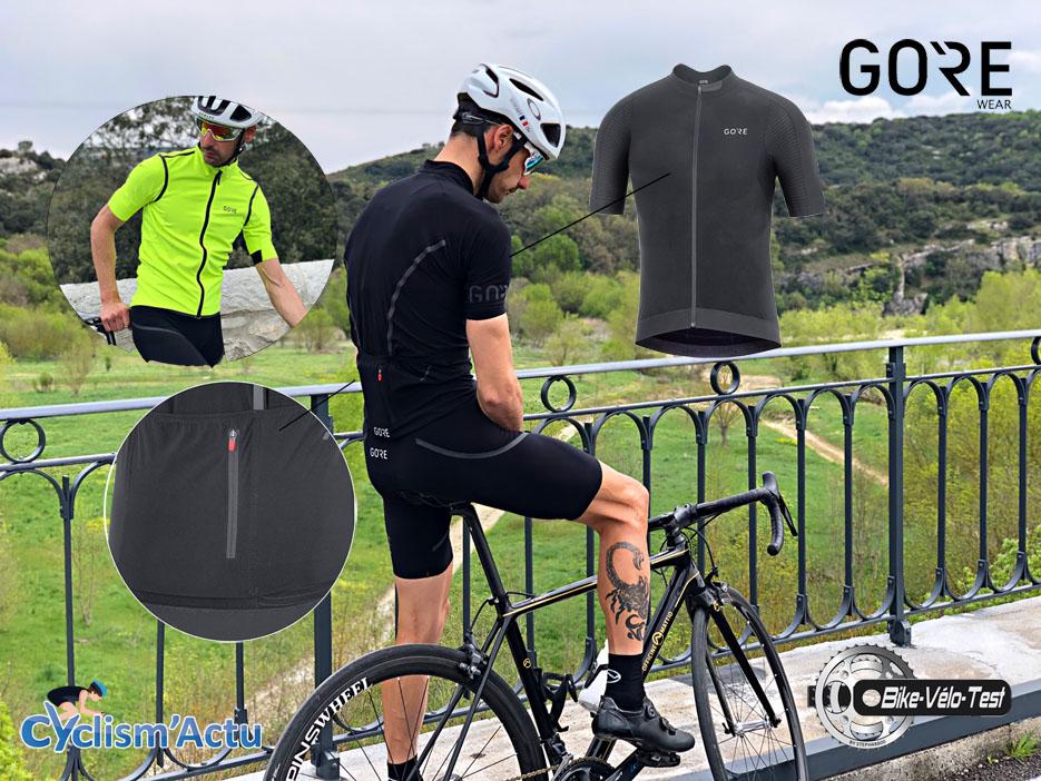 Bike Vélo Test - Cyclism'Actu a testé l'ensemble Gore C7 Race