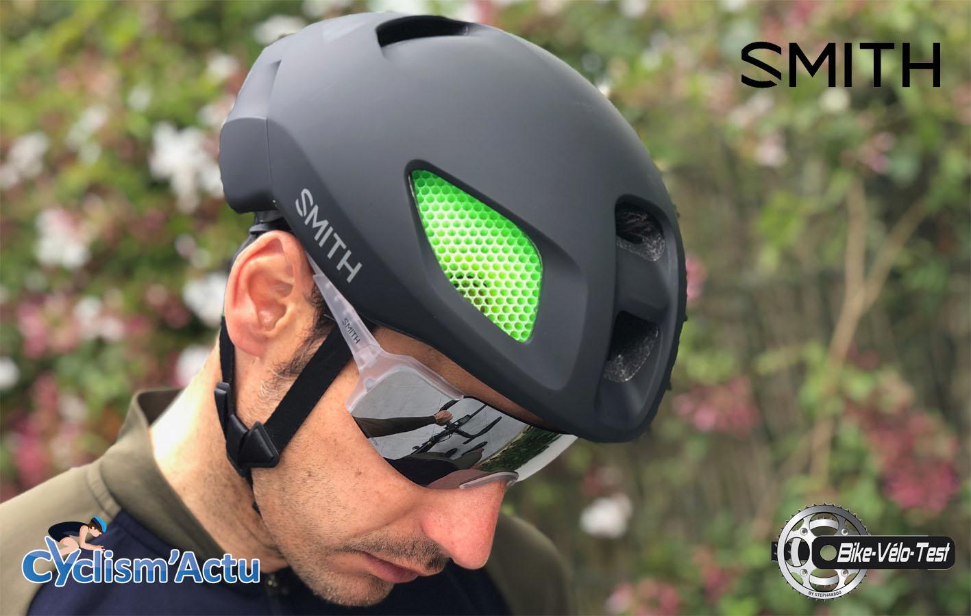 Bike Vélo Test - Cyclism'Actu a testé le casque et lunettes Smith