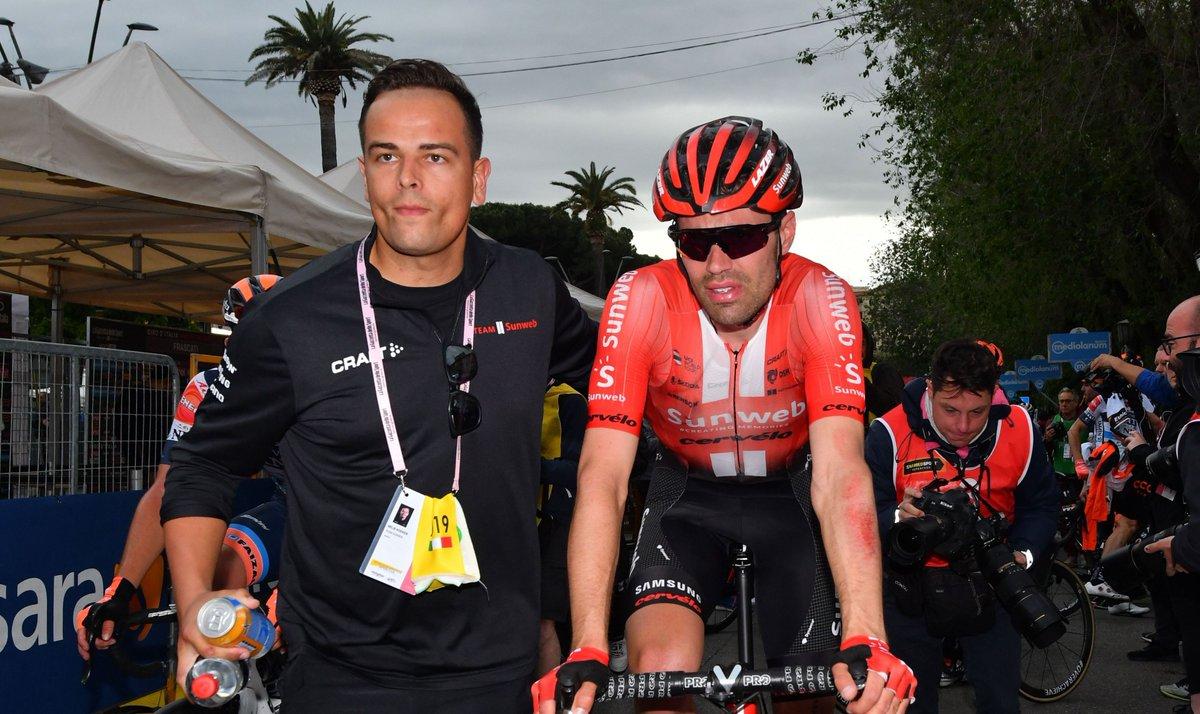 Tour d'Italie - Tom Dumoulin abandonne et quitte le Giro