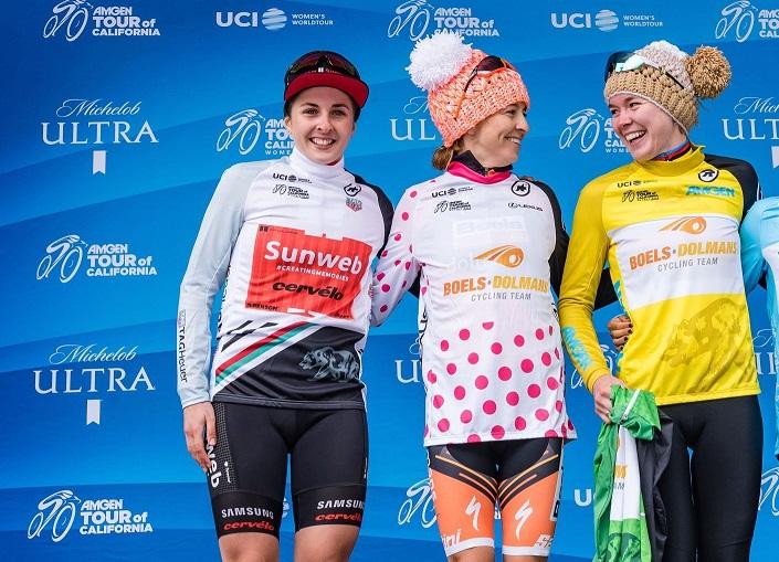 Tour de Californie (F) - Labous : 'Ravie du maillot blanc'