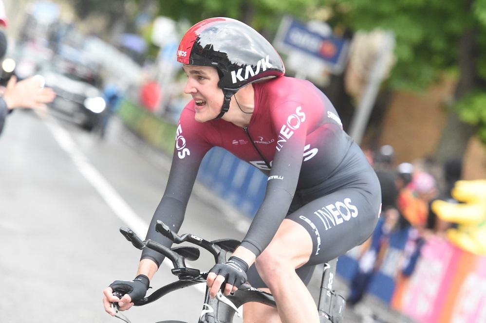 Tour d'Italie - Pavel Sivakov : 'C'est mon meilleur chrono'