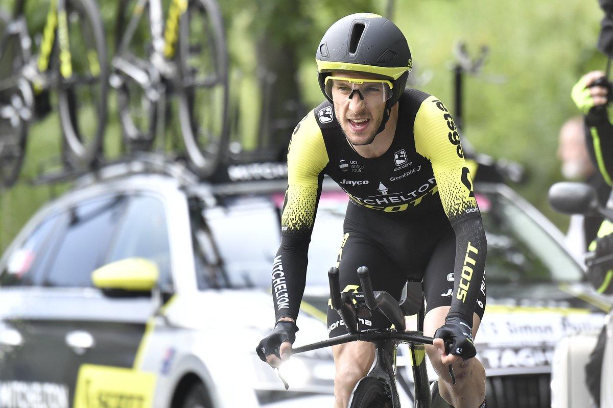 Tour d'Italie - Simon Yates : 'Élaborer un nouveau plan'