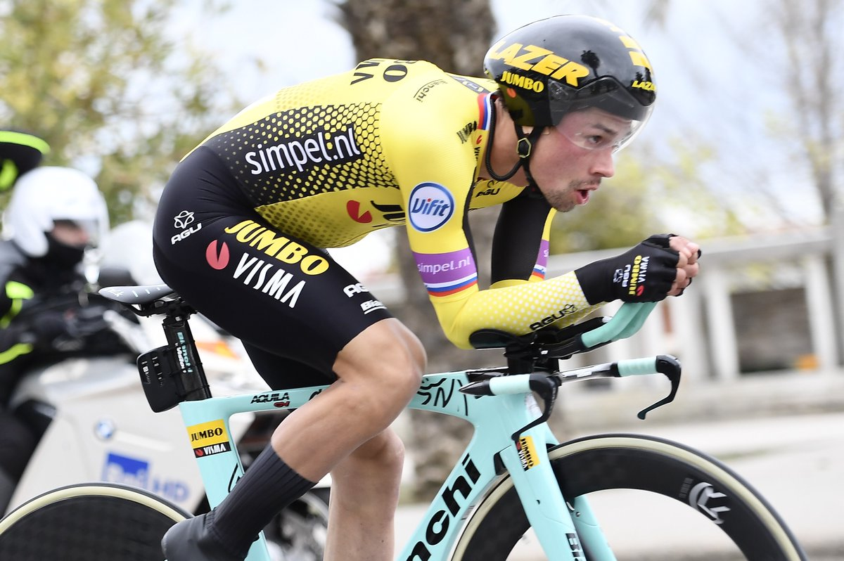 Tour d'Italie - Chavanel : 'Roglic a bien préparé son affaire'