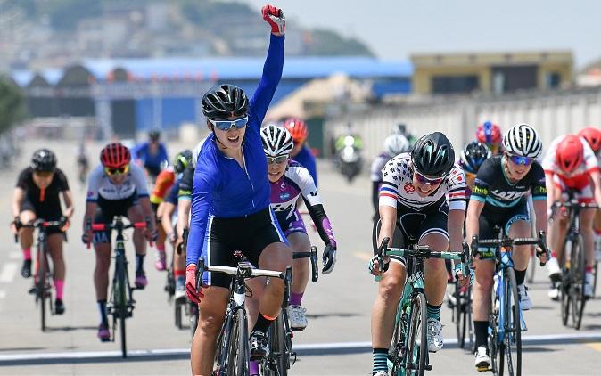 Tour de Zhoushan Island - Sun Jiajun au sprint devant Fidanza