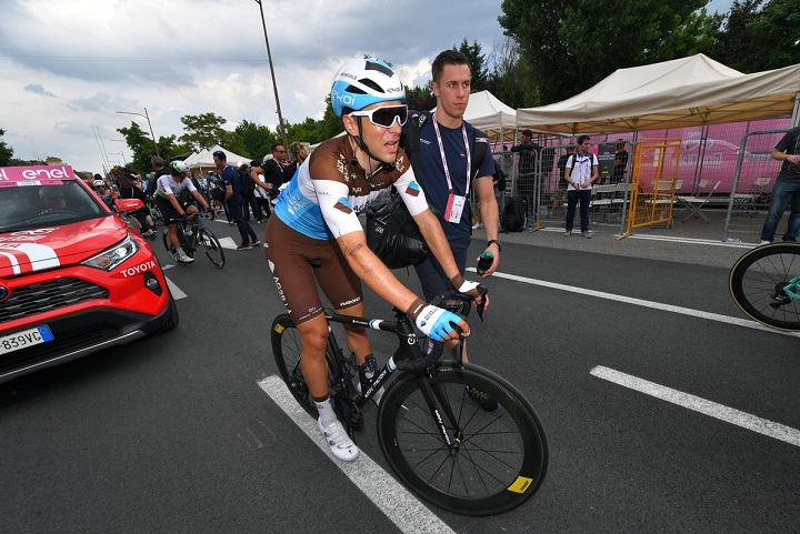 Tour d'Italie - Tony Gallopin : 'Le bilan ? C'est moyen'