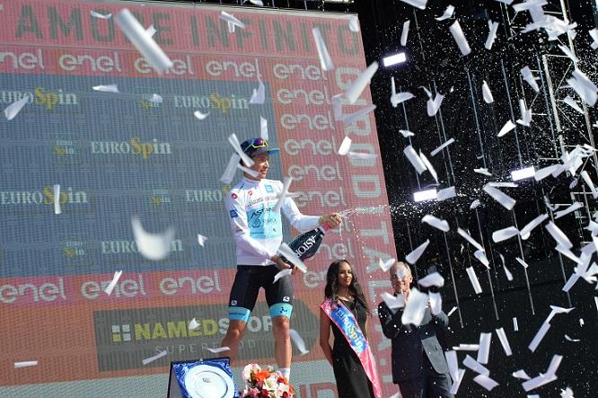 Tour d'Italie - Lopez : 'J'ai eu beaucoup de malchance'