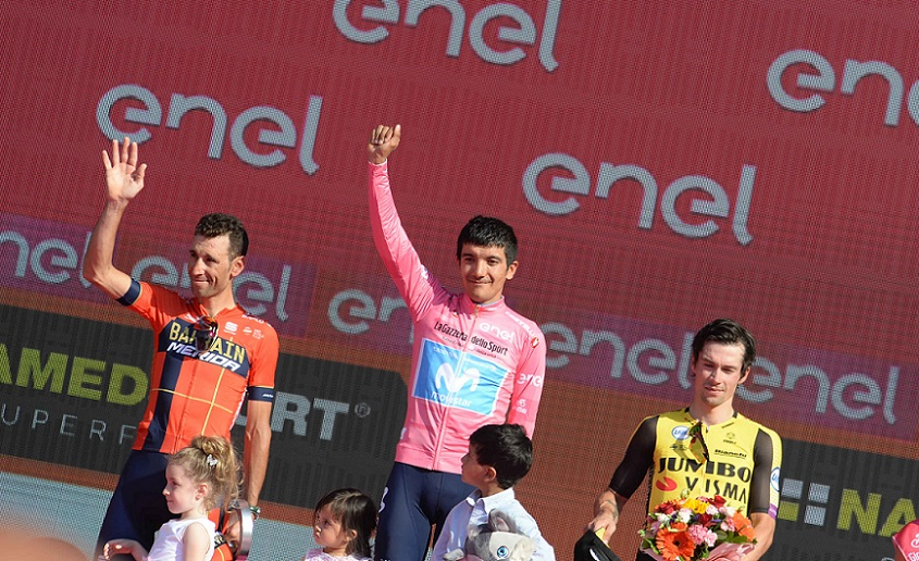 Tour d'Italie - Movistar au top, Yates déçoit : le bilan du Giro