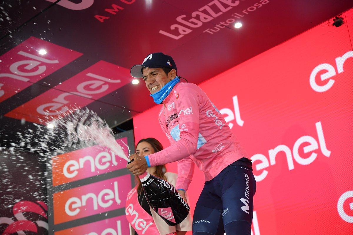Route - Carapaz : 'Je n'irai pas sur le Tour de France'