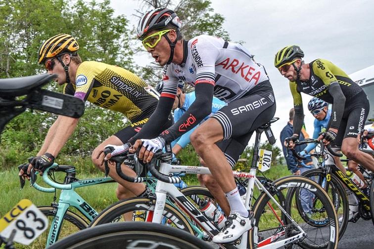 Critérium du Dauphiné - Warren Barguil : 'Je suis content'