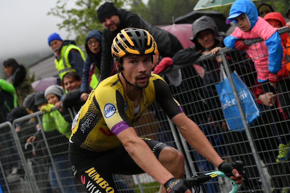 Tour d'Italie - Roglic : 'Tout le monde courait contre moi'