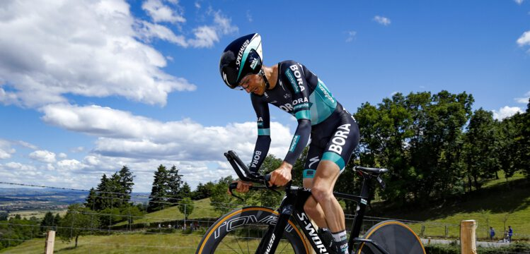 Critérium du Dauphiné - Buchmann : 'De bonnes sensations'