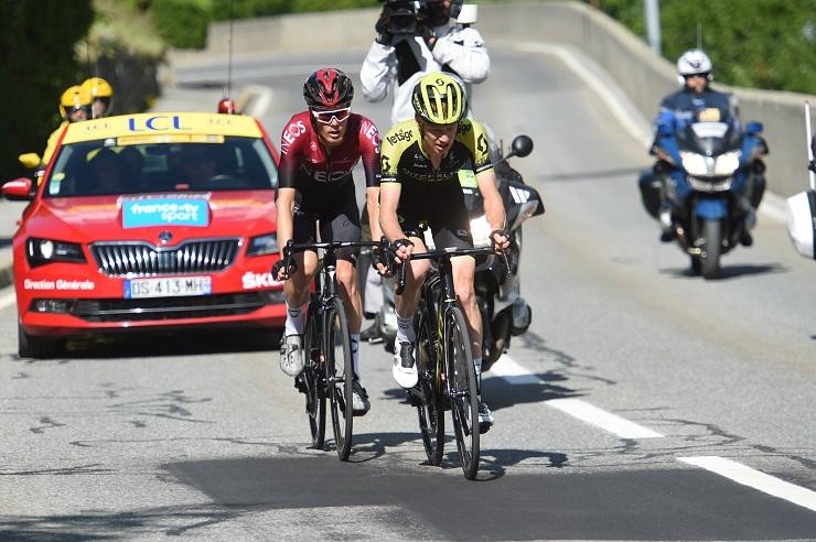Critérium du Dauphiné - Haig : 'Van Baarle était super fort'