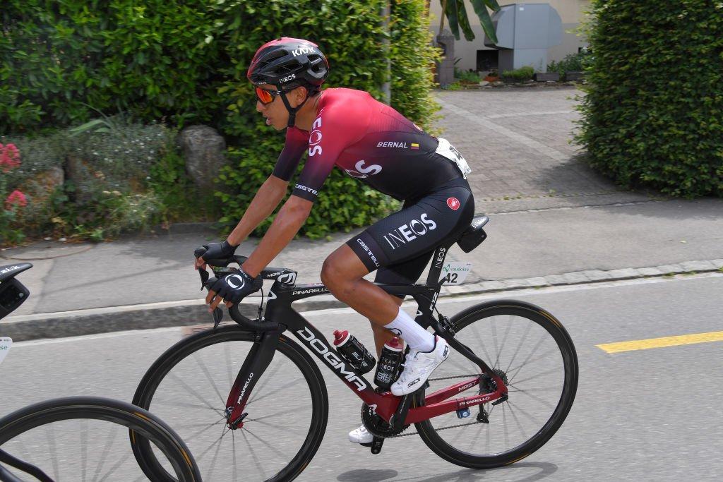 Tour de Suisse - Egan Bernal 'impatient' de se tester jeudi