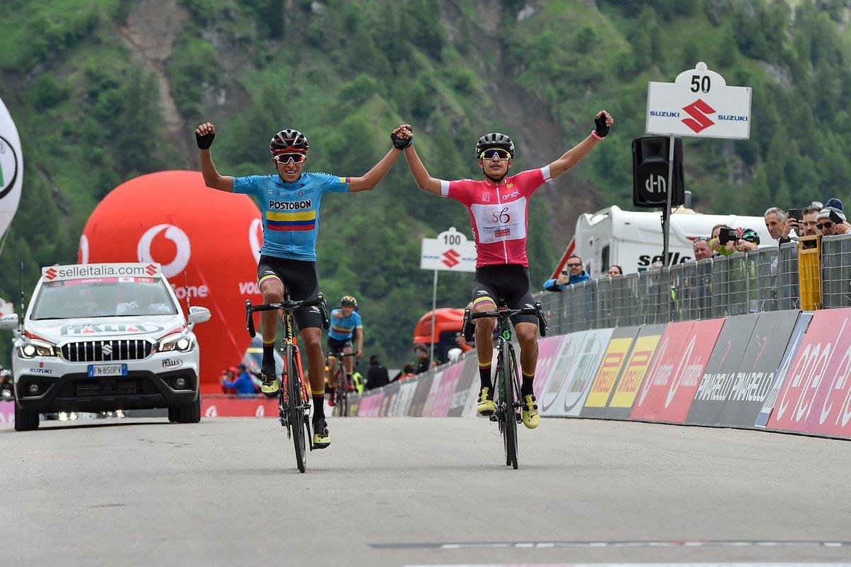 Tour d'Italie U23 - L'étape pour Rubio, Ardila grand vainqueur