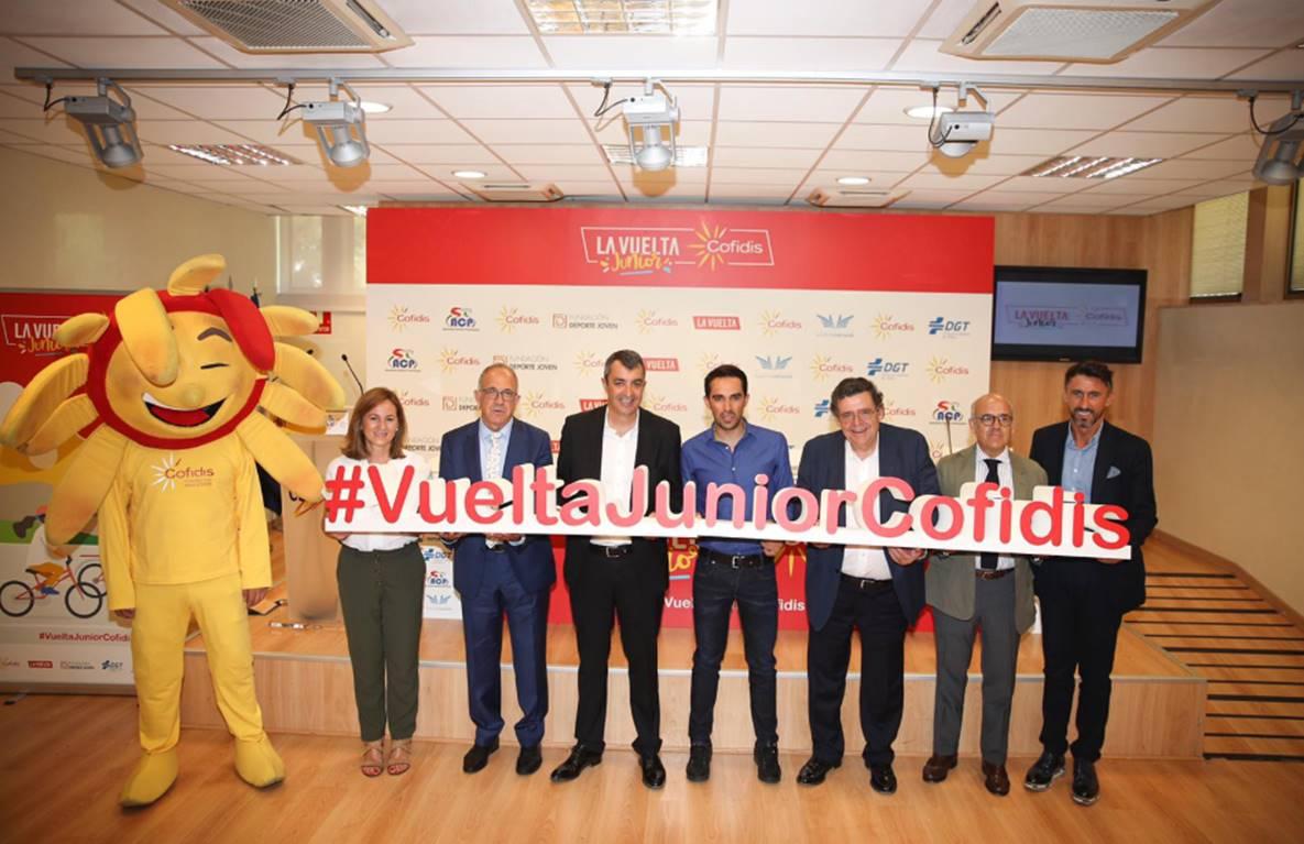 La Vuelta Junior - Avec Contador pour... l'éducation routière