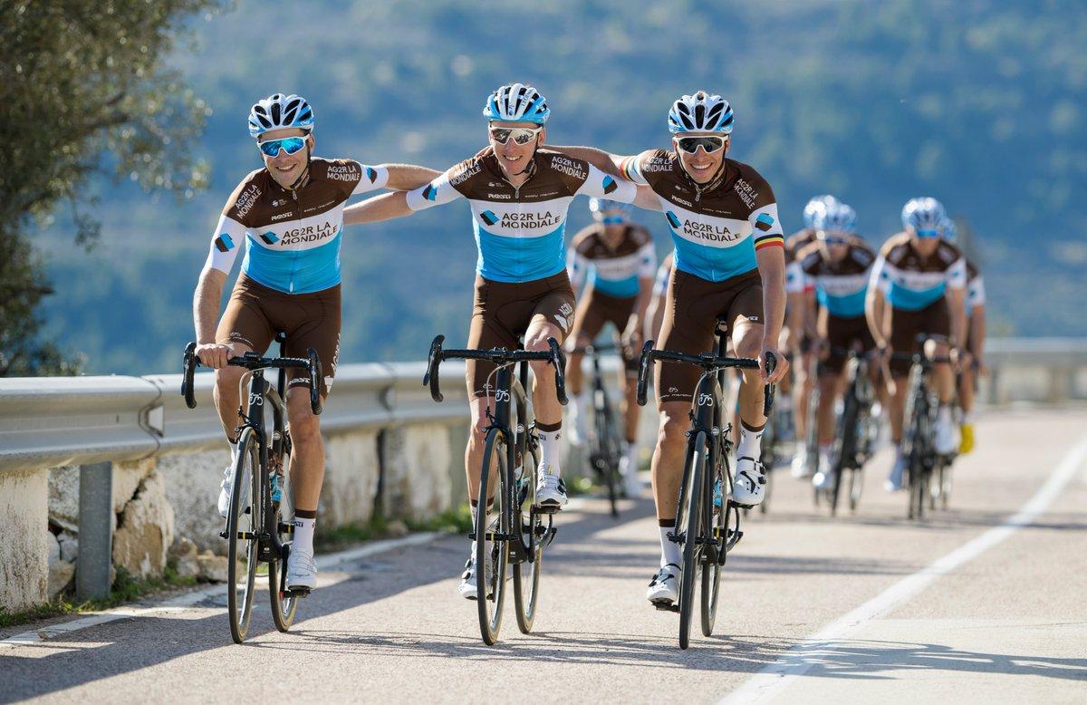 Route - AG2R La Mondiale prolonge son partenariat jusqu'en 2023