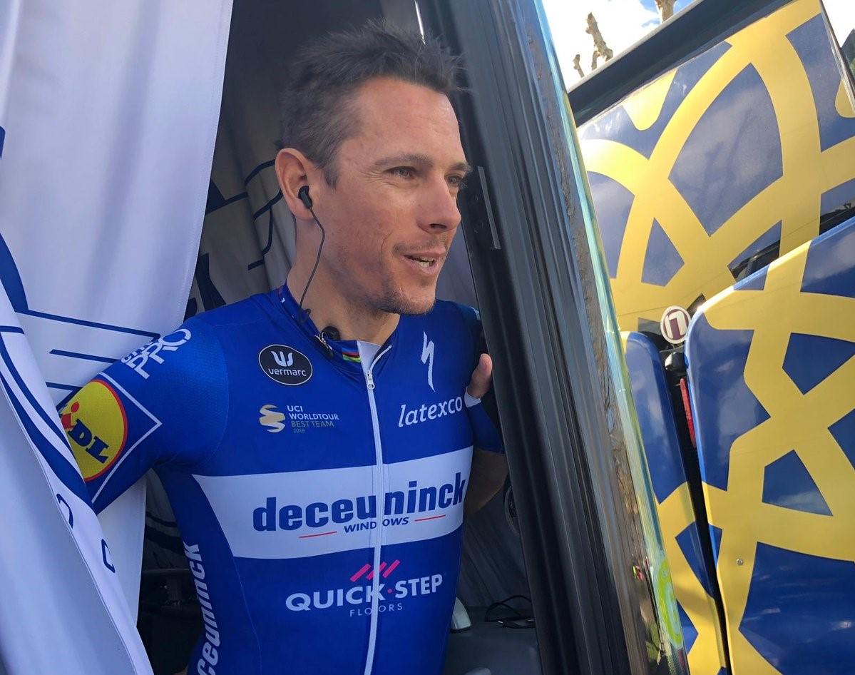 Tour de France - Deceuninck-Quick Step sans Philippe Gilbert