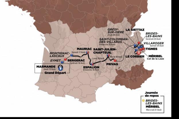 Tour de l'Avenir - J -1 : le parcours du Tour de l'Avenir