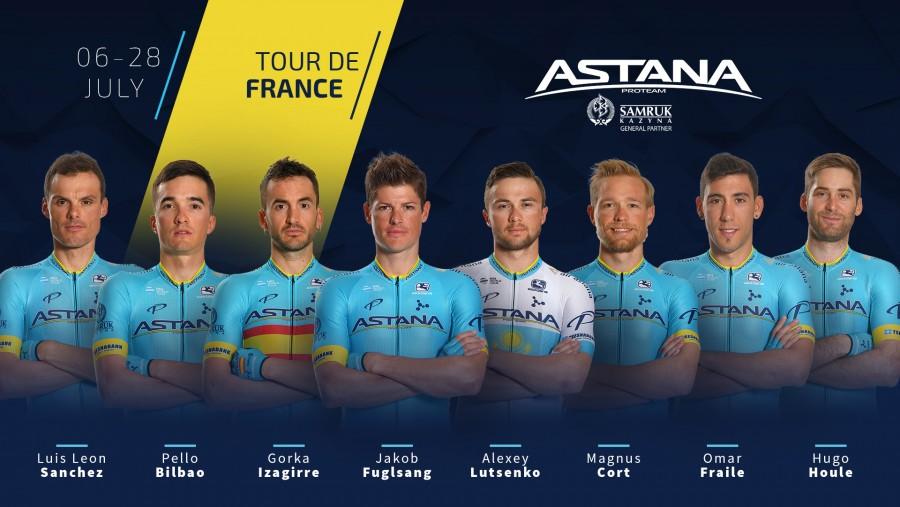Tour de France - Astana Pro Team : tout pour Jakob Fuglsang