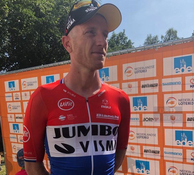 Pays-Bas - CLM - Jos van Emden sacré devant Langeveld