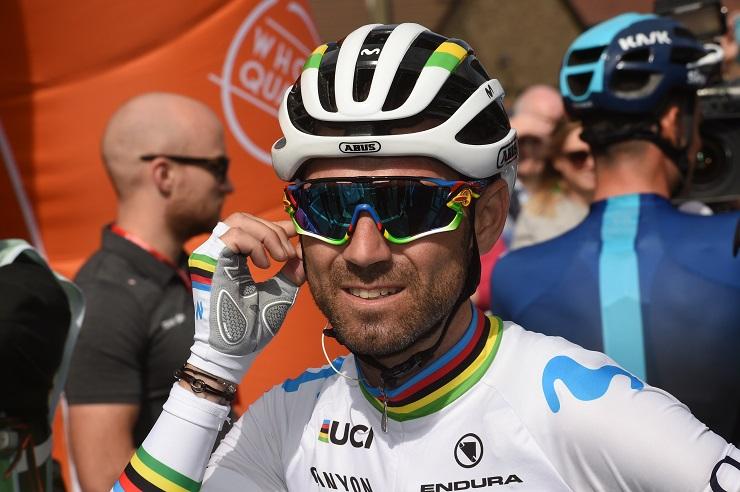Route - Valverde prolonge jusqu'en 2021 chez Movistar
