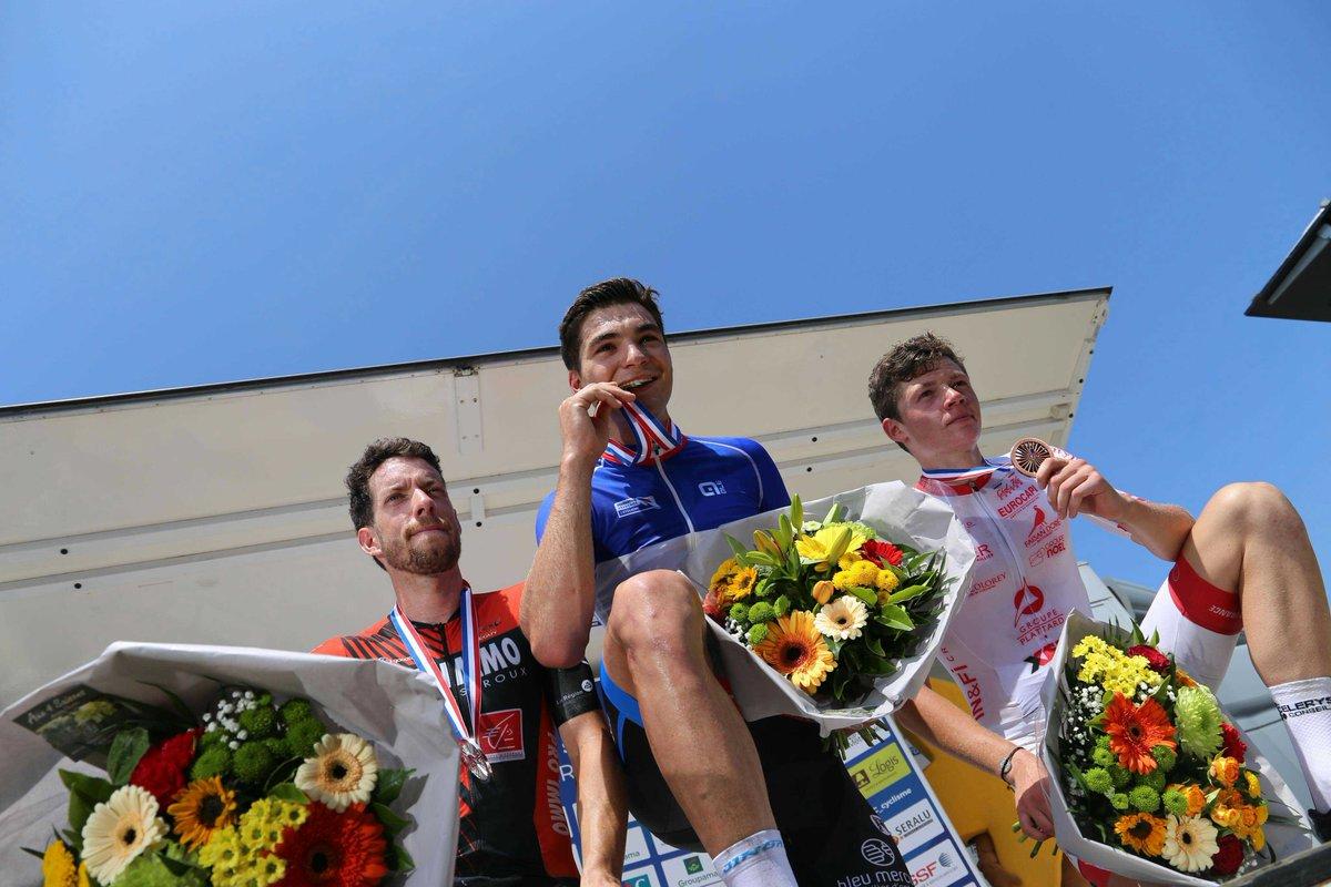 France - Route - Alexis Renard, champion de France Amateur