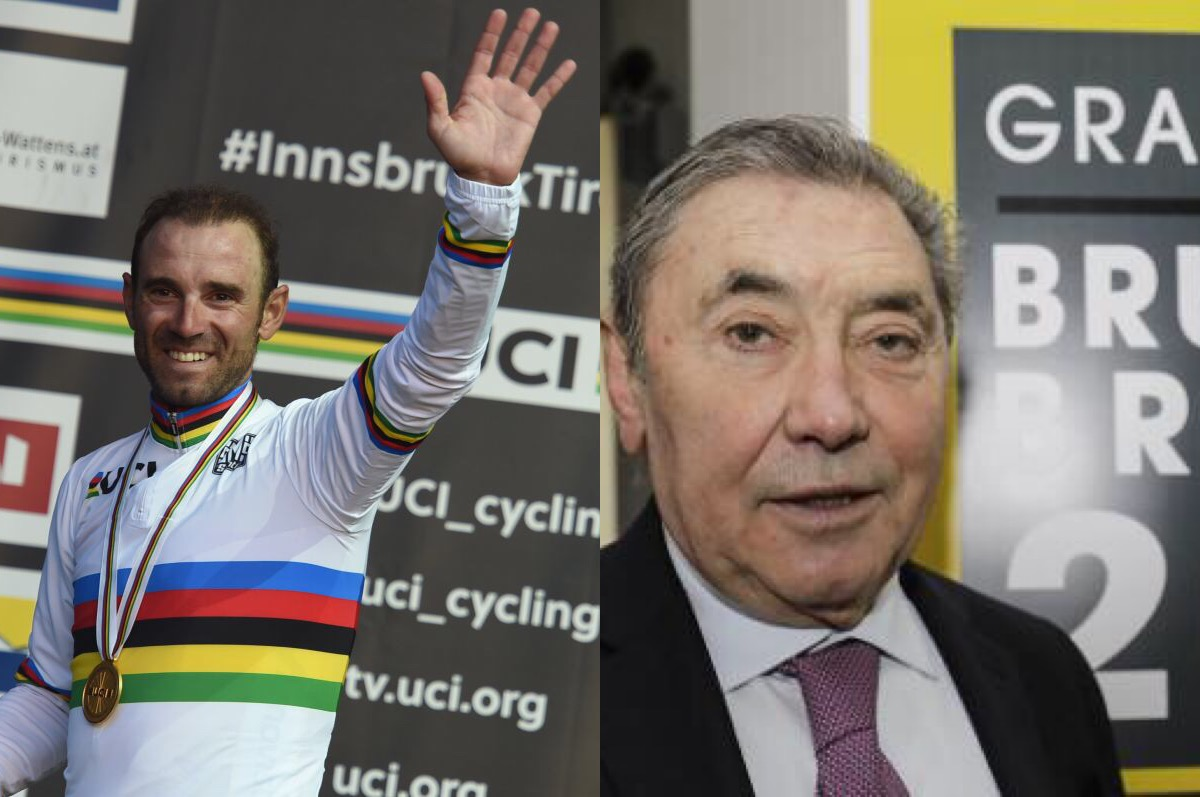 Route - Eddy Merckx : «Alejandro Valverde me ressemble»