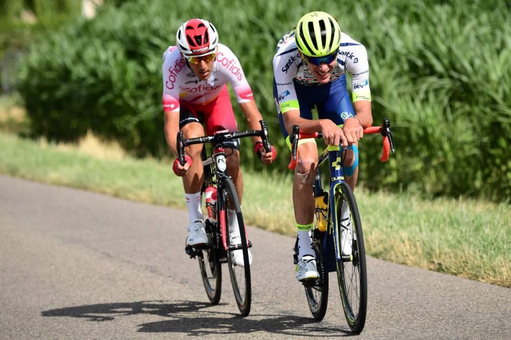 Tour de France - Yoann Offredo, dans les délais en souffrant