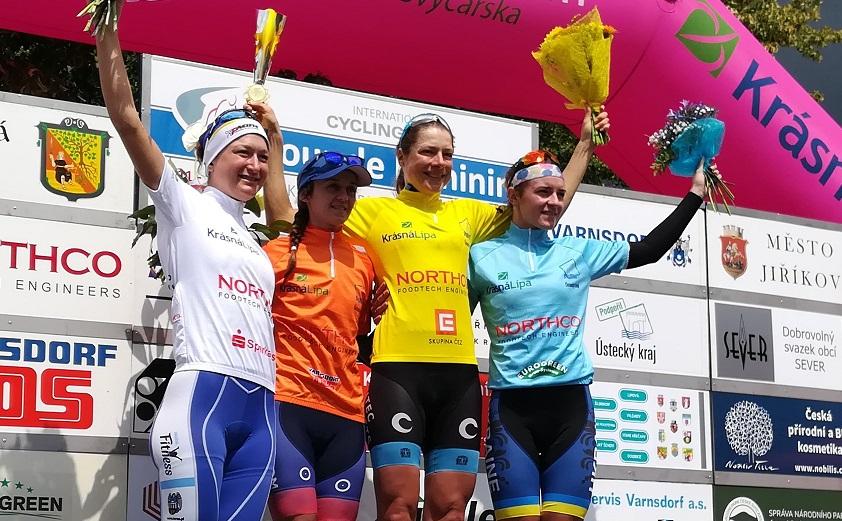Tour de Feminin - Victoire finale de Vita Heine, Eraud 5e