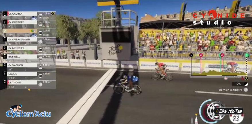 Bike Vélo Test - Cyclism'Actu a testé votre jeu vidéo du Tour