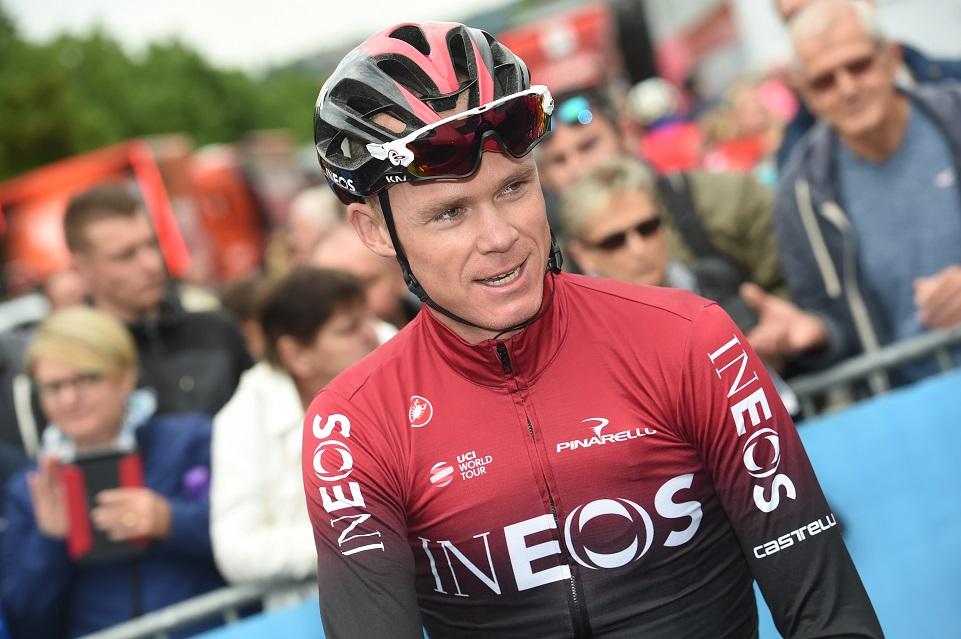 Route - Christopher Froome de retour sur un vélo fin août ?