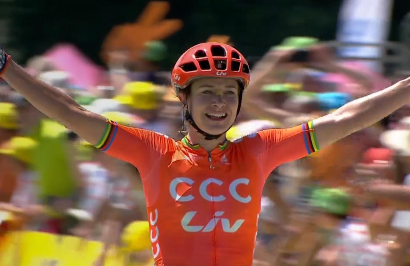 La Course by Le Tour - Marianne Vos est surpuissante à Pau