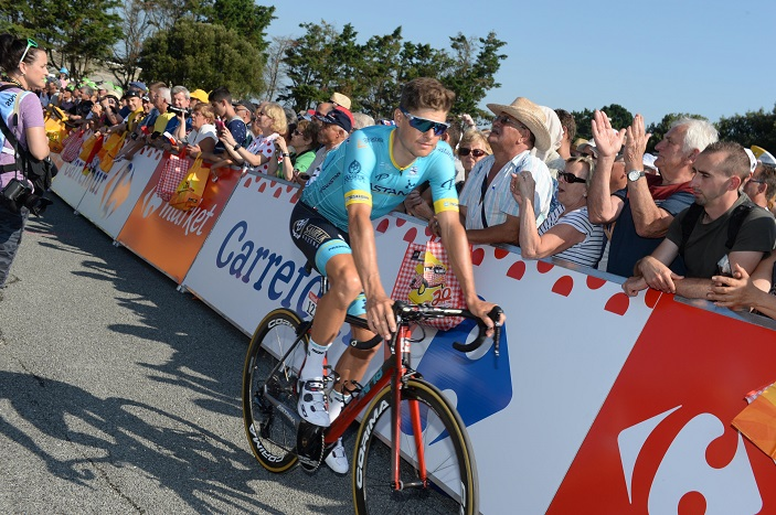 Tour de France - Jakob Fuglsang : 'J'ai vraiment souffert'