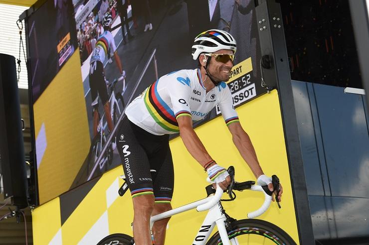 Tour de France - Valverde : 'Nous n'allons pas abandonner'