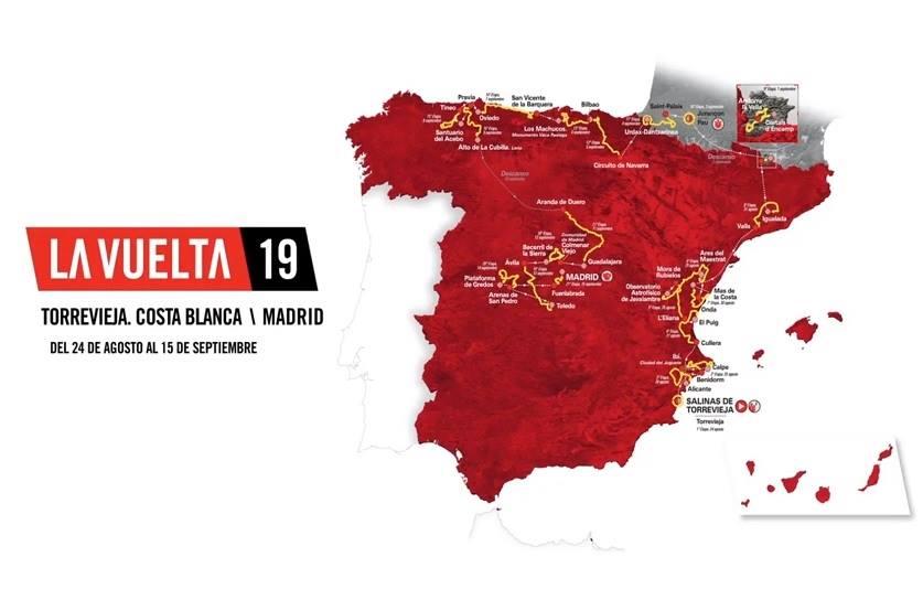 Tour d'Espagne - J -1 : tout sur le parcours de La Vuelta !