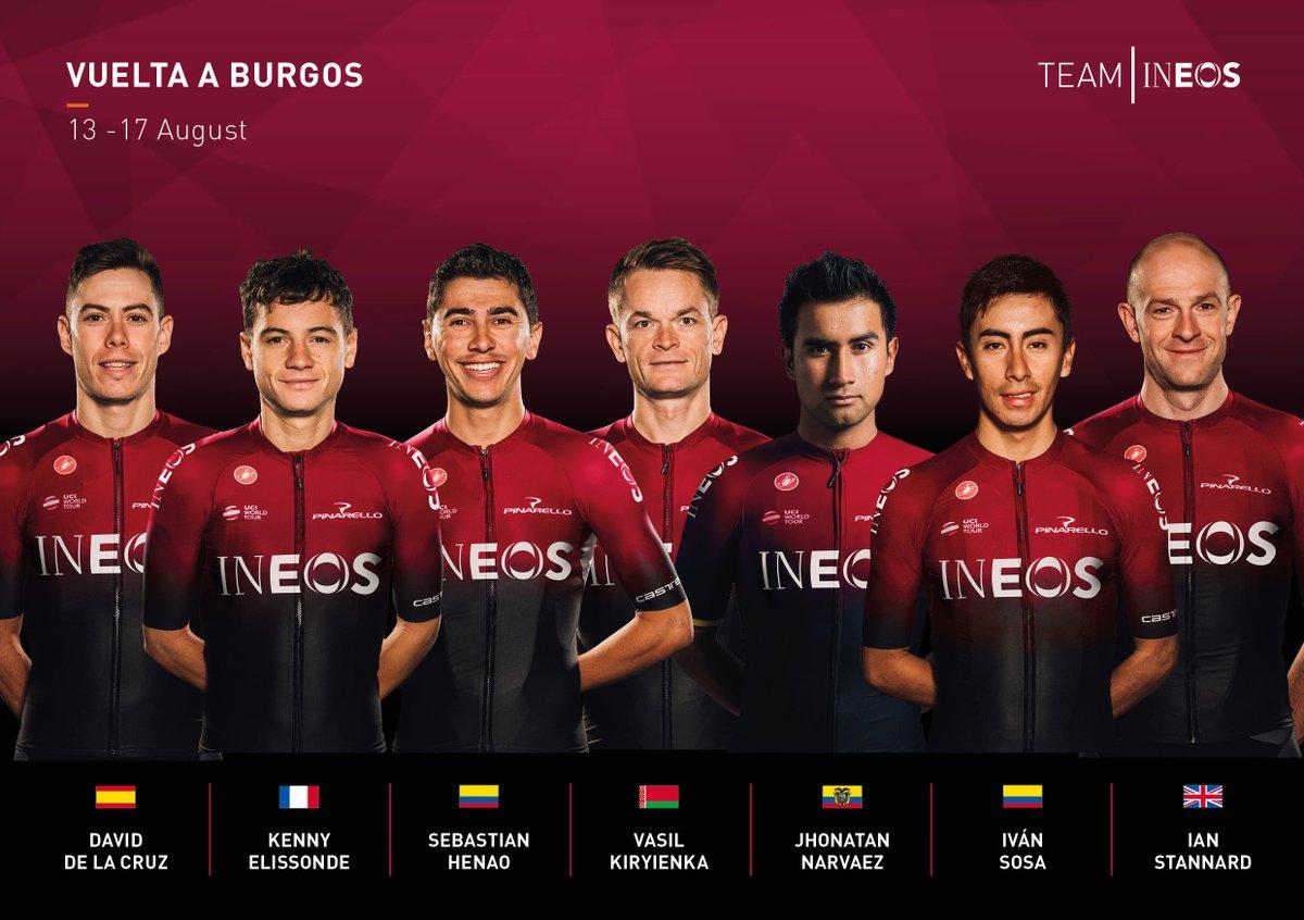 Tour de Burgos - Ivan Sosa remet son titre en jeu avec Ineos