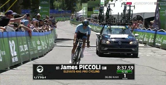 Tour de l'Utah - Piccoli enlève le prologue devant Craddock