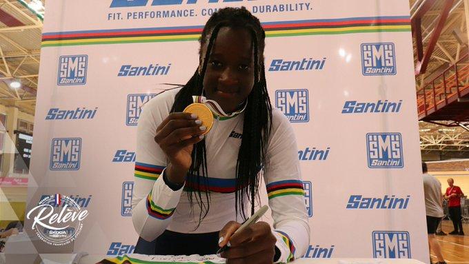 Piste - Mondiaux (J) - Marie-Divine Kouamé titrée en 500m