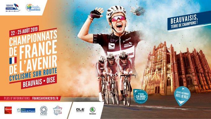 Route - Le programme des Championnats de France de l'Avenir