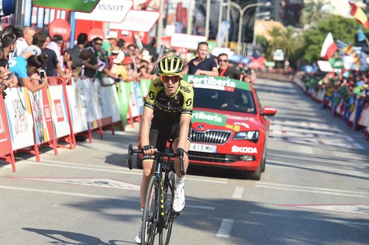 Tour d'Espagne - Nieve : 'Je suis content de mes jambes'